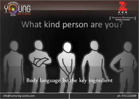 Body language be the key ingredient