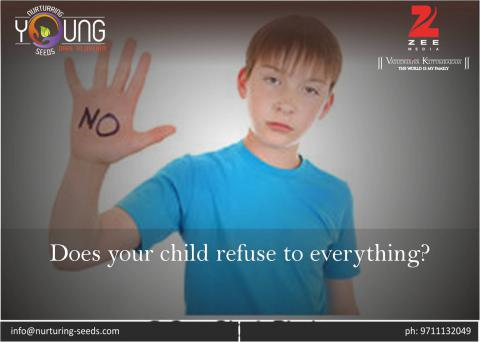 Does your child refuse to everything?