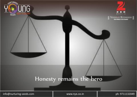 Honesty remains the hero