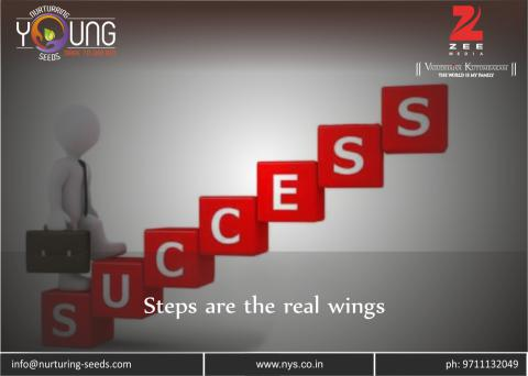 Steps are the real wings