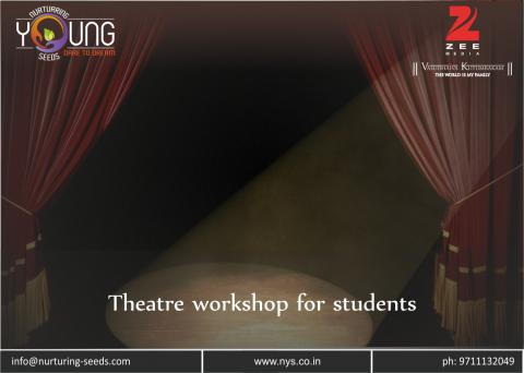 Theatre workshop for students