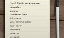 Good Media Analysts are...