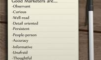 Good Marketers are....
